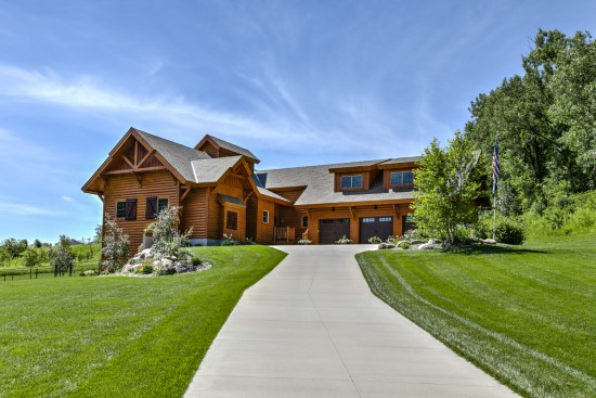 Three Bridge Lodge - Natural Element Homes