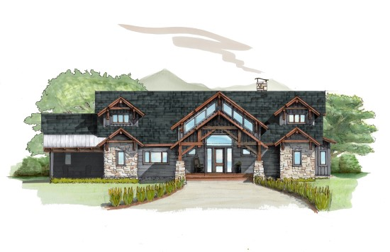 Whippoorwill Lodge - Natural Element Homes