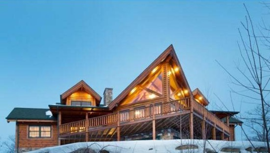 White Mountain Lodge - Natural Element Homes