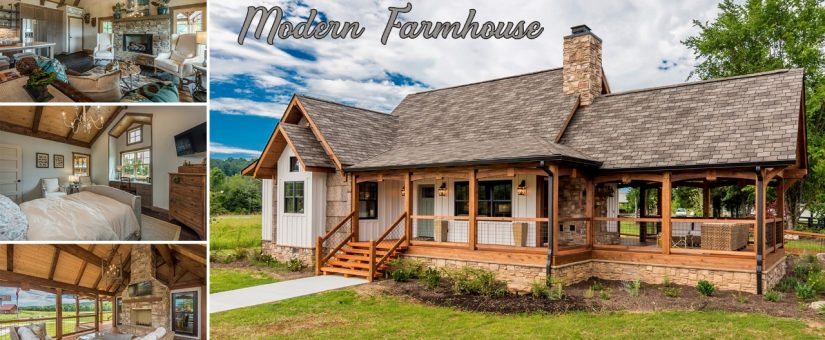 [Modern Farmhouse] The BEST Modern Farmhouse Plans | Natural Element Homes