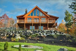 Save 20% on a log home